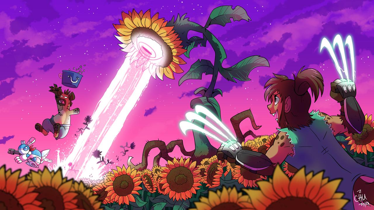 Vs. Sunflower
